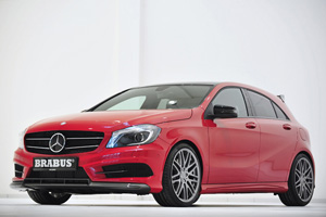 Тюнинг Brabus для Mercedes-Benz A-class W 176 Sport Package AMG