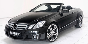 Тюнинг Brabus Mercedes E-class Coupe/Cabriolet (C/A 207)